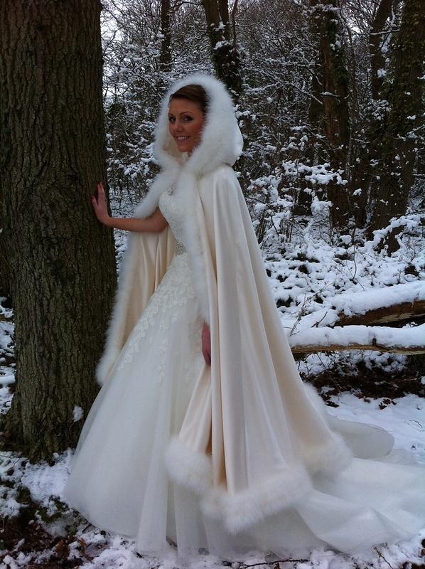Fur Cloak Dresses Brides Of Southampton