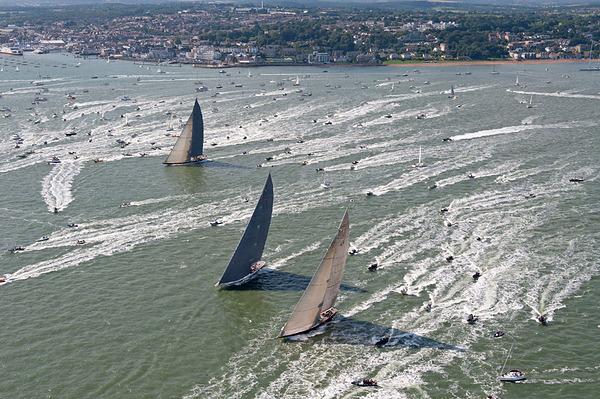 J-Class Yachts under sail