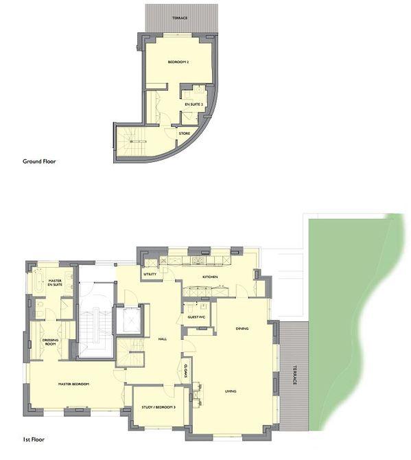 1 Hazel Court.JPG floor plan image 0
