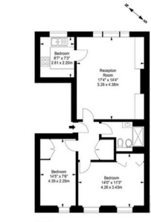 84D Onslow Gardens.JPG floor plan image 0