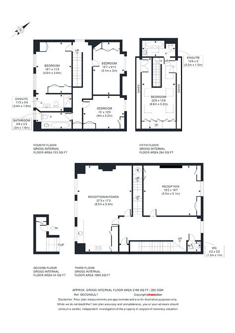 Flat D 18 Cottesmore Gardens (3).jpg floor plan image 0
