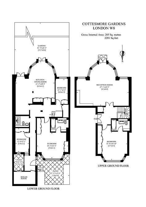 G&LG 18 Cottesmore Gardens.jpg floor plan image 0